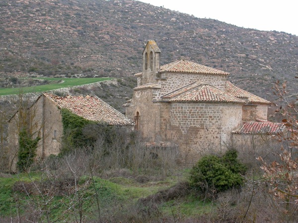 13.01.2009 monestir de cellers  Cellers -  Ramon Sunyer