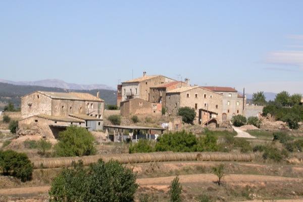 10.07.2001 vista de sant serni  Sant Serni -  Ramon Sunyer