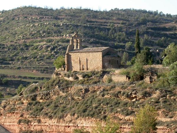 10.09.1998 església de sant miquel de fontanet  Fontanet -  Ramon Sunyer
