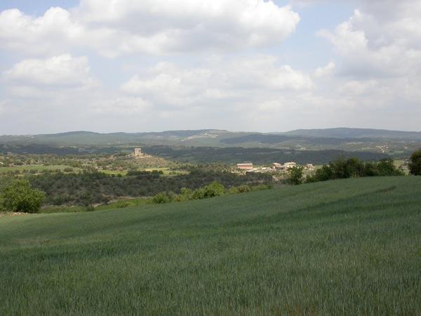 30.01.2005 paisatge  Puigredon -  Ramon Sunyer