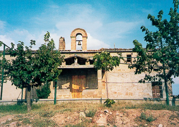 Church of Santa Maria de Sasserra - Author Ramon Sunyer (2010)