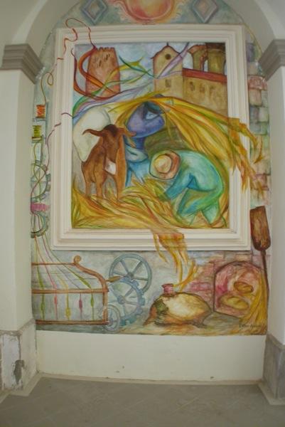 25.04.2010 Pintures del convent  Torà -  Ramon Sunyer