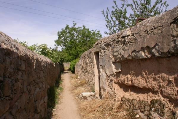 12.06.2010 Els camins són envoltats de pareds en el primer tram   Torà -  Ramon Sunyer
