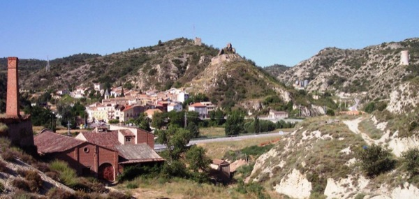 Vista general de Castellfollit de Riubregós - Castellfollit de Riubregòs