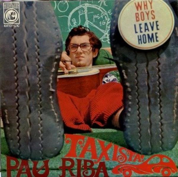 Portada del disc Taxista de Pau Riba -