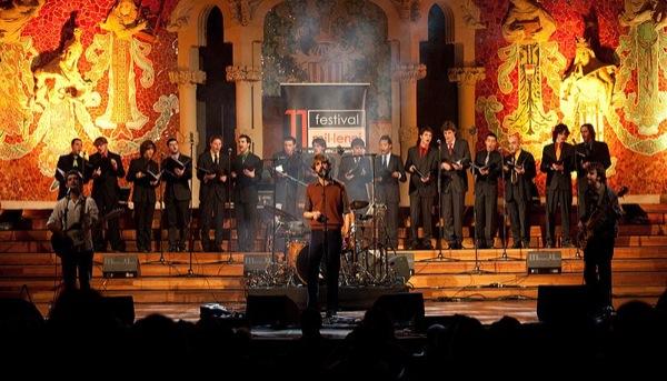 els Manel en concert al Palau de la Música Catalana -