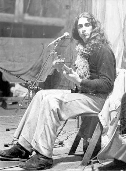 Concert del Pau Riba a Torà el 20 de novembre de 1976 - Torà