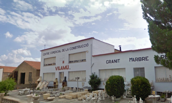 Empresa Vilamú Foto: Google street - Torà