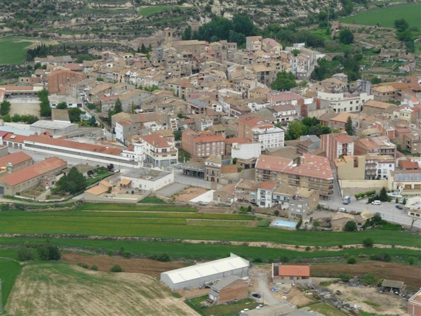 Vista aèria de Torà Foto: Jordi barrancos - Torà