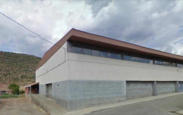 Polisportiu cobert Foto: Google street - Torà