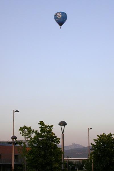 09.07.2010 Vol de competició del dijous a la tarda  Igualada -  Ramon Sunyer