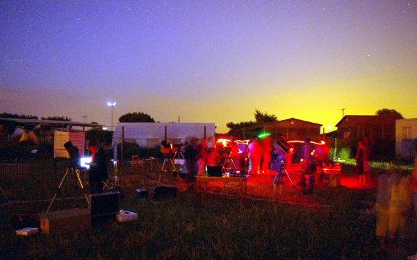 09.07.2010 Observació del cel profund a l'observatori  Pujalt -  Ramon Santesmasses