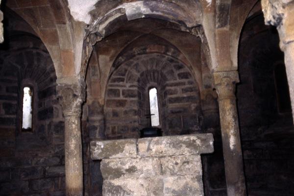14.07.1986 Cripta del monestir  Cellers -  Ramon Sunyer