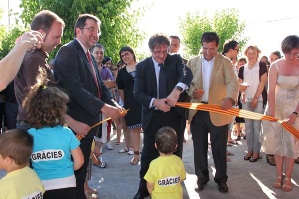 Inauguració de la Llar d'Infants  - Torà