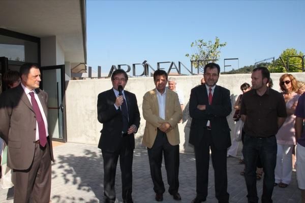D'esquerra a dreta, Jordi Ausàs, Domènec Oliva, Tomàs Pujol, i Xavier Casoliva. - Torà