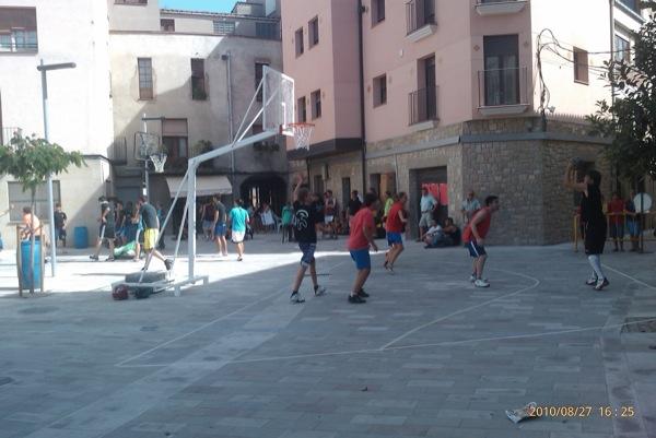 27.08.2010 3x3 basquet  Torà -  Ramon Sunyer