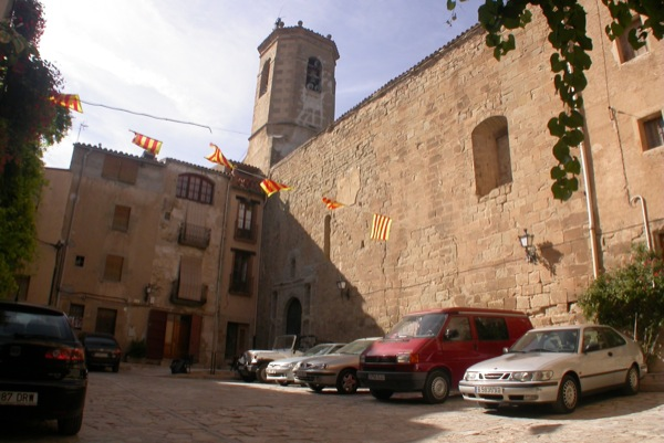 27.08.2010 Plaça de l'Església  Torà -  Ramon Sunyer