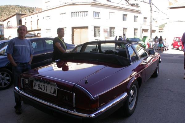 28.08.2010 Exposició cotxes antics, un Jaguar  Torà -  Ramon Sunyer