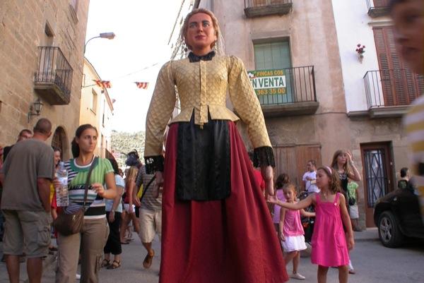 28.08.2010 Els gegants, la Bonica  Torà -  Ramon Sunyer