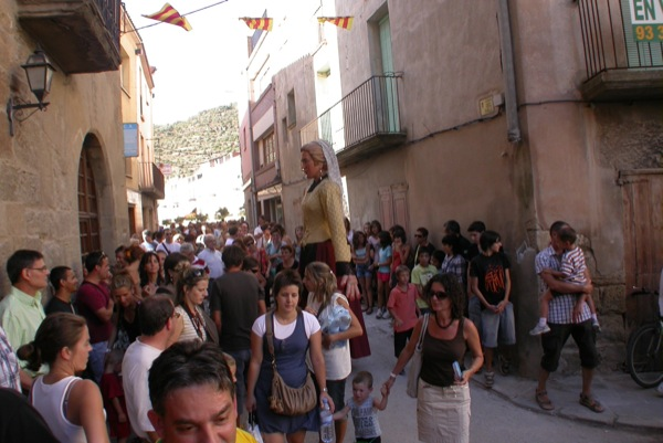 28.08.2010 Passacarrers amb els gegants  Torà -  Ramon Sunyer