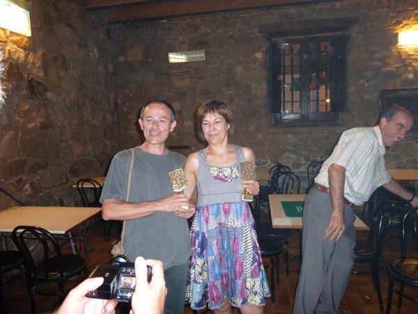 28.08.2010 Els sostcampions: Isidre Sunyer i Emília Borda  Torà -  lopere