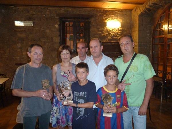 28.08.2010 Fotos Campions i Finalistes del 30e Campionat de Botifarra Festa Major 2010 Cafe La Toranesa  Torà -  lopere