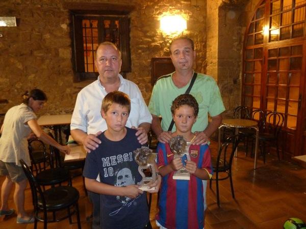 28.08.2010 Els campions: Ramon Bosch i Joan Graells de Guissona  Torà -  lopere