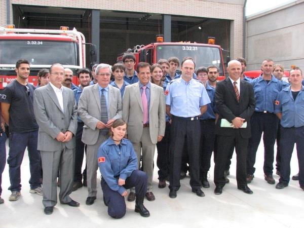 04.09.2010 Inauguració Parc de Bombers Voluntaris  Torà -  Ajuntament