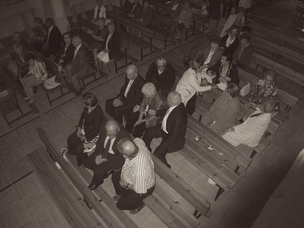 19.09.2010 Missa a l'església de sant Gil  Torà -  Ramon Sunyer
