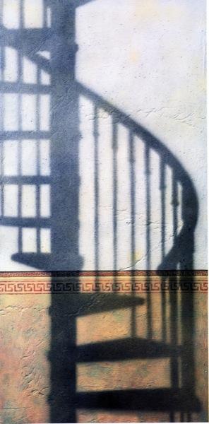 10.09.2001 Sèrie Escales: Spiral Staircase  -