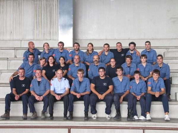 02.10.2010 Els bombers voluntaris de Torà  Torà -
