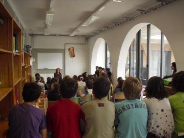Alumnes de l'escola sant gil Foto: ceip sant gil - Torà