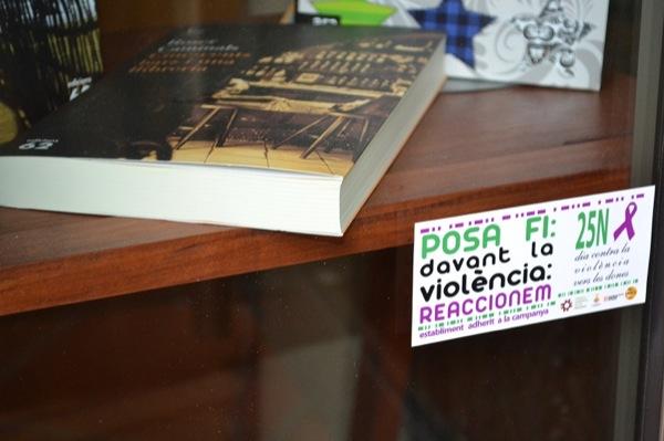 Adhesius de la campanya  'Posa fi. Davant la violència:reaccionem!' -