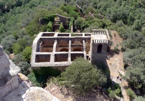 05.04.2010 Sant Pere, des de la terrasa de la torre.  Vallferosa -  Xavier Sunyer