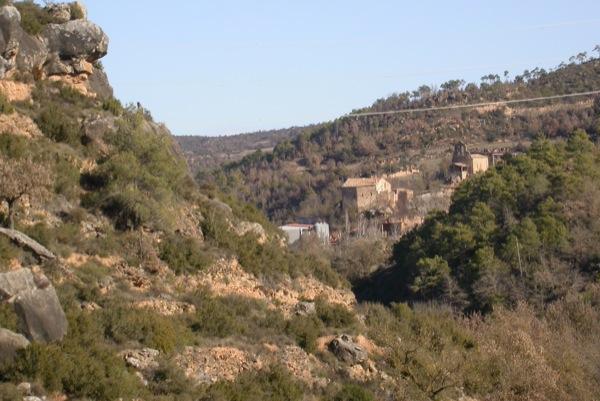 25.12.2010 vista des de la muntanya de l'aguda  Fontanet -  Ramon Sunyer