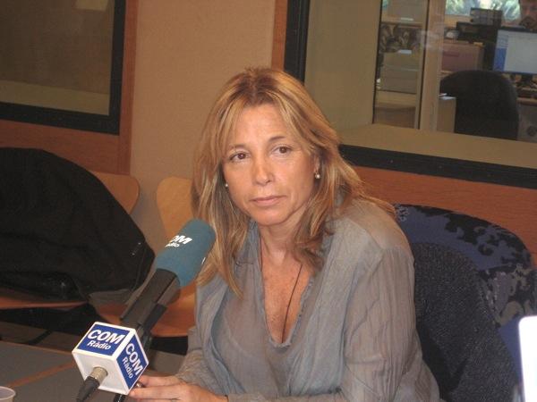Joana Ortega consellera de Governació i Relacions Instutucionals -