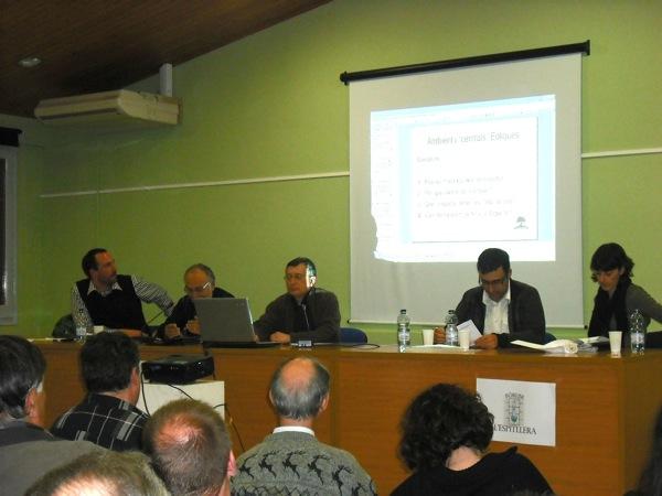 debat sobre l€™extensió de les centrals eòliques a la Segarra - Guissona