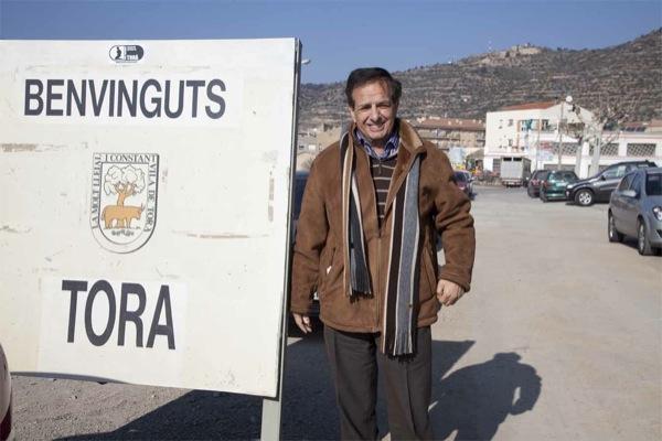 Domènec Oliva, alcalde de Torà - Tora