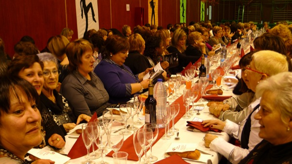 05.02.2011 Les taules del sopar de Santa Àgueda del 2011  Torà -  Marta