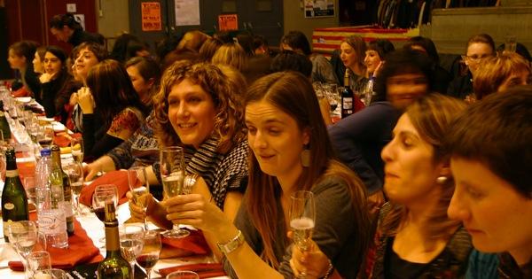 05.02.2011 Les taules del sopar de Santa í€gueda del 2011  Torà -  Marta