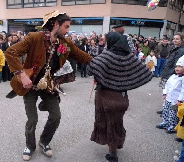 26.02.2011 Brut i Bruta ballant  Torà -  Xavier