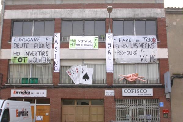 26.02.2011 cartells electorals  Torà -  Ramon Sunyer