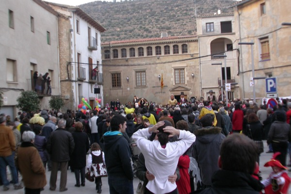 26.02.2011 carnaval festa popular  Torà -  Ramon Sunyer