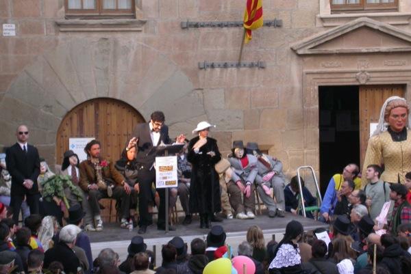 26.02.2011 Detall del pregó pronunciat per Sergi Torrescassana  Torà -  Ramon Sunyer