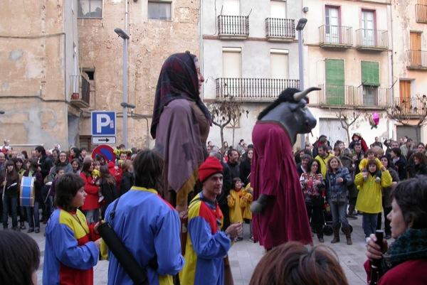 26.02.2011 Els gegants  Torà -  Ramon Sunyer