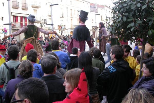 26.02.2011 ball de gegants  Torà -  Ramon Sunyer