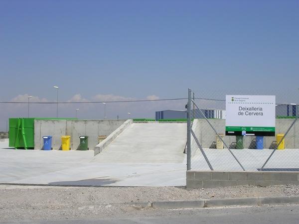 Deixalleria comarcal de Cervera