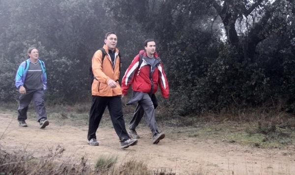Toranesos a la XII Marxa dels Castells de la Segarra -