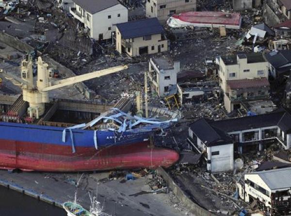 Els danys causats per la catàstrofe són molt palesos -