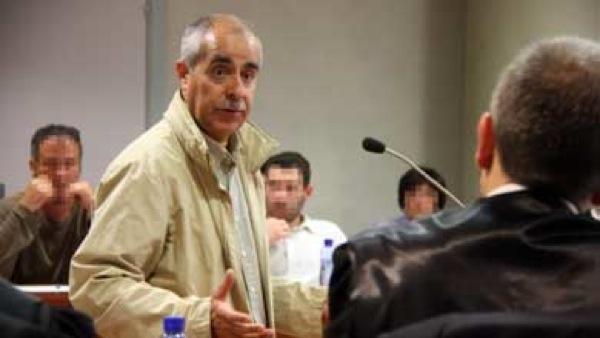 Francesc Torrens en la seva declaració al judici -